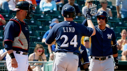 Brewers vs. Indians: 4/3/15