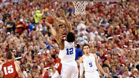 PHOTOS: Blue Devils 68, Badgers 63