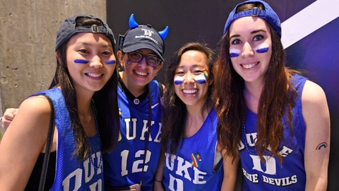 PHOTOS: Blue Devils 68, Badgers 63