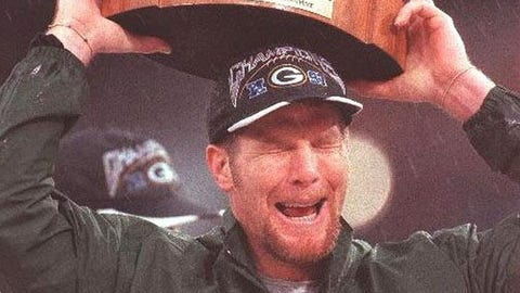 Brett Favre, QB, former Packer