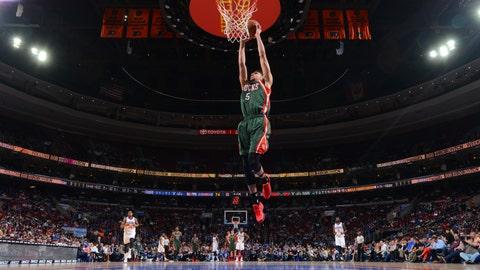 PHOTOS: Bucks 107, Sixers 97
