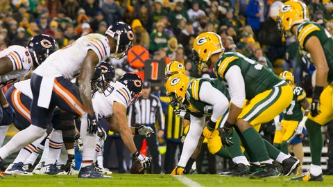 September 28: Chicago Bears at Green Bay Packers, 8:25 p.m. ET