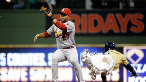 Brewers vs. Cardinals: 4/24/15-4/26/15