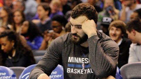 Minnesota Timberwolves: Nikola Pekovic, C