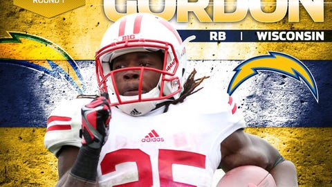 Melvin Gordon, RB, former Badger