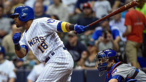 Brewers vs. Cubs: 5/8/15-5/10/15