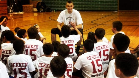 Sam Dekker, F, former Badger
