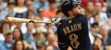 Brewers drop Memorial Day game to Giants despite homers from Davis, Braun