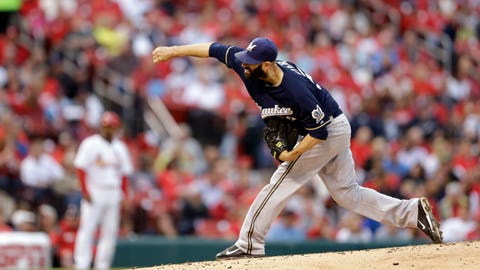 Brewers at Cardinals: 6/1/15-6/3/15