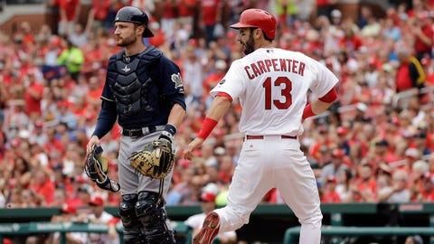 Brewers at Cardinals: 6/1/15-6/3/15