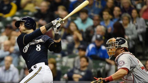 Brewers vs. Nationals: 6/11/15-6/14/15