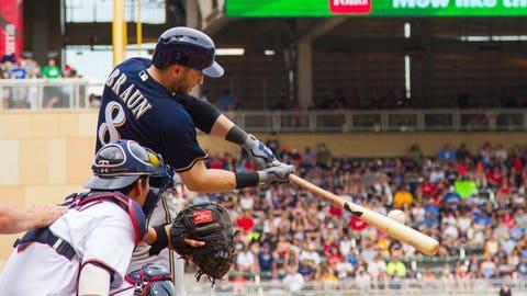 April 29, May 15 – Ryan Braun's pair of multi-homer games
