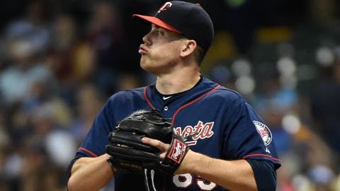 Trevor May, Twins P