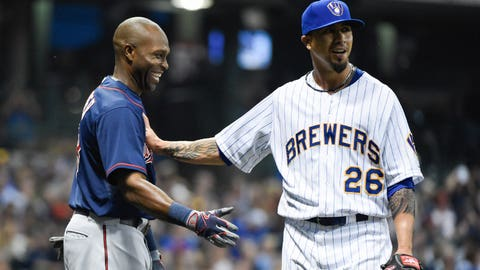 Brewers vs. Twins: 6/26/15-6/28/15
