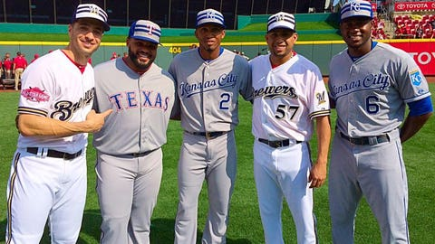 PHOTOS: Brewers in the 2015 All-Star Game