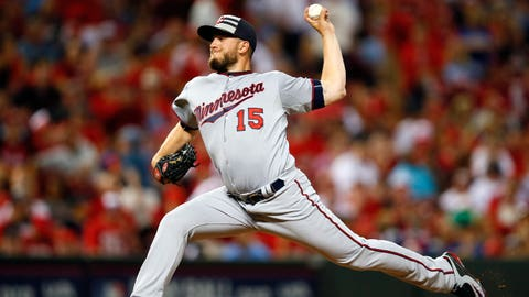 Glen Perkins, Twins pitcher
