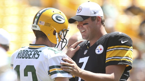 November 26: Green Bay Packers at Pittsburgh Steelers, 8:30 p.m. ET