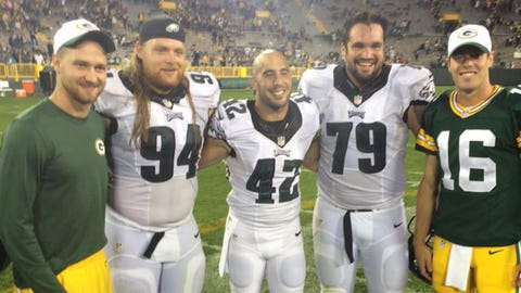 Beau Allen, ex-Badgers and Eagles defensive tackle