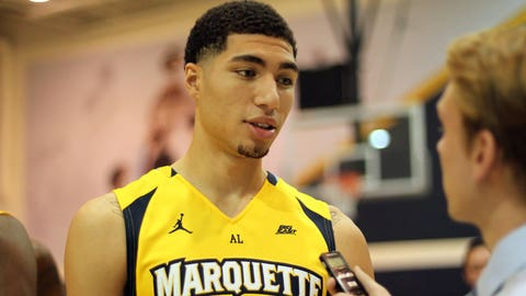 Sophomore Sandy Cohen on Marquette having more depth this season