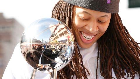PHOTOS: Lynx 2015 championship parade
