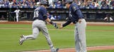 Brewers fall to Mets despite first career homer from Flores