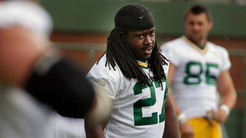 Eddie Lacy, RB, Packers (ankle): Active