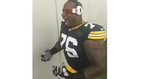 Mike Daniels, Packers defensive tackle