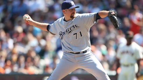 July 25, 2007: Traded Will Inman, Steve Garrison and Joe Thatcher to the San Diego Padres for Scott Linebrink