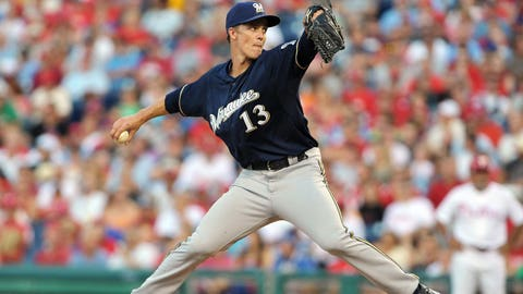 July 27, 2012: Traded Zack Greinke to the Los Angeles Angels of Anaheim for Johnny Hellweg, Ariel Pena and Jean Segura