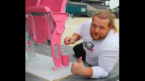 Beau Allen, Eagles and ex-Badgers defensive tackle