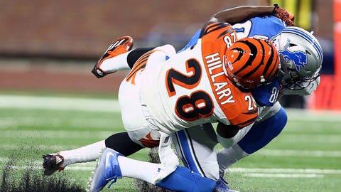 Darius Hillary, Cincinnati Bengals