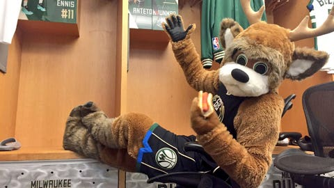 Bango, Bucks mascot