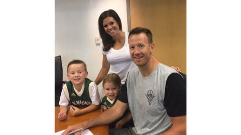 Steve Novak, Bucks forward