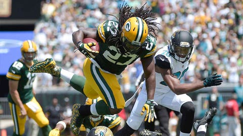 Has Eddie Lacy's offseason routine paid off?