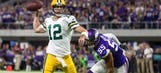 Packers QB Rodgers urges patience after offense struggles