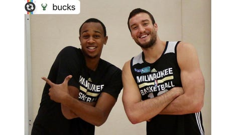 Miles Plumlee, Bucks center