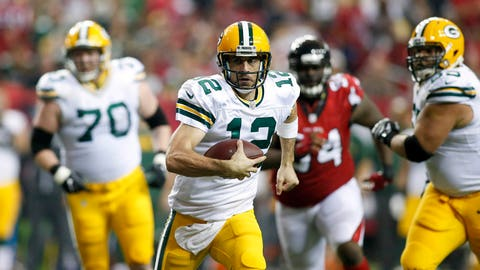 Aaron Rodgers is almost 33