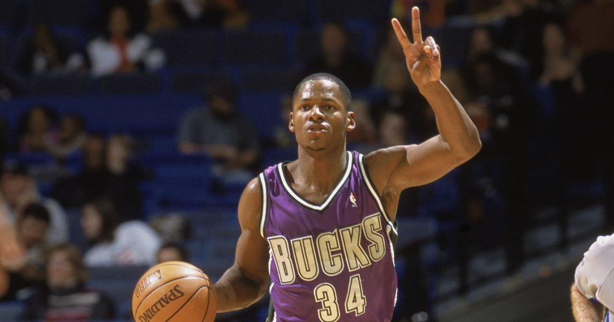 StaTuesday: Ray Allen's legacy with the Milwaukee Bucks ...