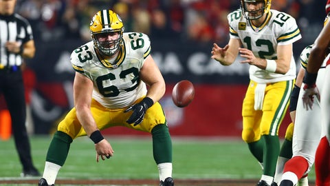 Green Bay Packers: C Corey Linsley