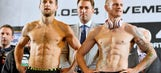 Froch, Groves make weight for world title rematch