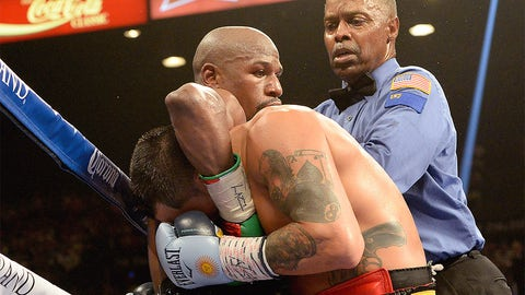 Hold just a second, Floyd