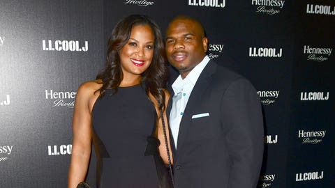 Laila Ali and Curtis Conway (married)