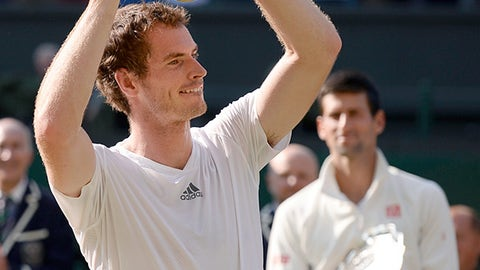 Andy Murray finally wins Wimbledon