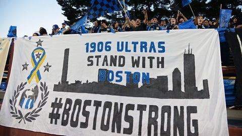 Boston finds healing through sports