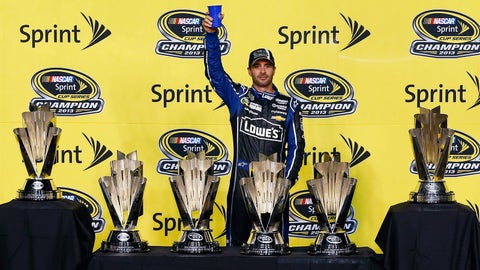 Jimmie Johnson makes it six career titles