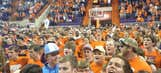 Clemson storms court after NIT victory, Twitter reacts with laughter