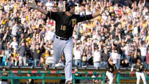 Pittsburgh Pirates, 10-18, tied for fourth place