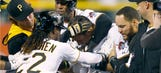 Big Buzz: Pirates get physical; Weird Jeter gift; Lucy Watson is Fox-y