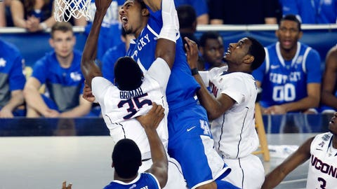 Helped: James Young, Kentucky, Fr., F
