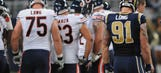 Kyle Long: 'It's not any fun' playing against brother Chris Long